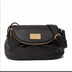 NWB Marc Jacobs Classic leather messenger bag